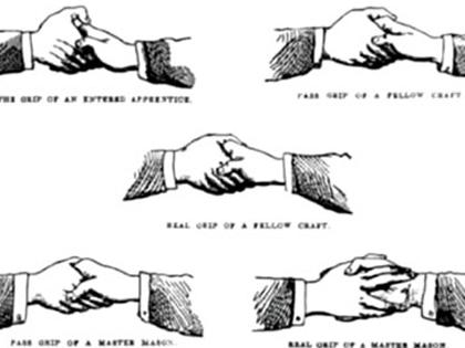 フリーメイソンの握手法! 法王にまつわるマラキの預言とウワサ