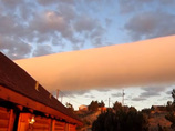 おいしそう!? 大自然が生み出したロールケーキのような超巨大雲!!