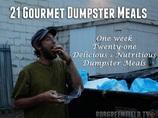 「何も問題ないよ」1週間ゴミを食べて暮らした男 ゴミでフルコースのディナーも…