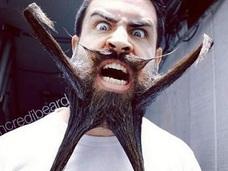髭ラーメンって、コレどうなってるの!? 髭アートで世界を沸かせる男の作品が凄い!
