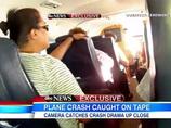 乗客が撮影した、飛行機墜落事故の瞬間映像! 1名が死亡した事故の全貌、死の瞬間人は何を思うのか?