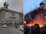 ウクライナ騒乱前後の首都キエフを比較した衝撃画像!! 内戦の様相を呈してきた衝突の実態