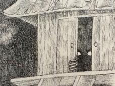 """【メドツ】河童さん!? 青森県・八戸に出る""""黒い妖怪""""を目撃した女性、住職に口止めされる!?"""