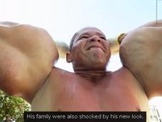 ブラジル最大の筋肉を誇る「ポパイ人間」!! ドーピングで極限まで腕を太くした男!