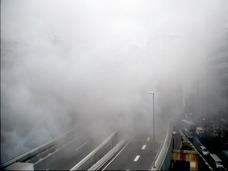 【スクープ!!】渋谷・首都高が煙に包まれる火事が発生!!