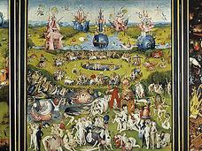 """名画の尻に描かれた""""地獄の音符""""を奏でた結果…  鬼才、ヒエロニムス・ボス「快楽の園」"""