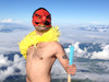 【スクープ】富士山山頂に、天狗が出現!?
