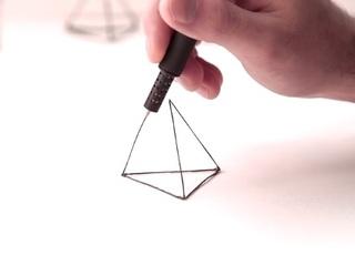 """次世代筆記用具の本命!? """"空中に絵を描く""""、3Dプリンティング「ペン」がやってくる!!"""