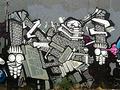 """「ゴジラに出てくる怪獣が大好きだった」インドネシアの""""落書きアーティスト""""が描くジャカルタ"""