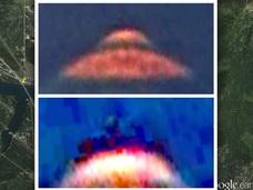 【衝撃】グーグルアースがUFOを激写! 宇宙人パイロットの姿まで!?