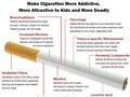 アンモニア、レブリン酸… 現代のタバコは50年前よりも喫煙者を蝕んでいる!?(米報告)