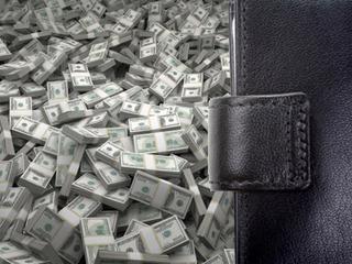 【今、勢いのある芸能人はみんな黒い長財布を使っている怪! なぜ長財布は金がたまるのか?