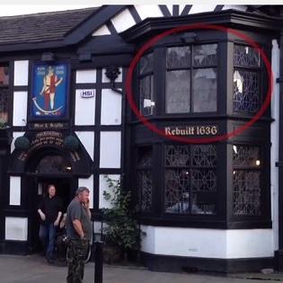 """斬首された伯爵の亡霊か!? 英国の""""出る""""パブでまたも幽霊が激写される!!"""