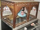 頭は人間、胴体はキツネ!! 動物園の人気者「ムムターズ・ベグム」が人々に幸せを届ける=パキスタン