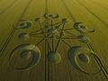 ミステリーサークル史上最高傑作! わずか一晩のうちに麦畑に現れた謎のサークル!!