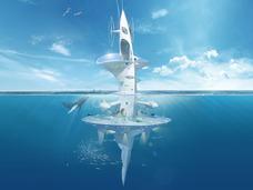 海の上の宇宙船「シーオービター」!!  未知なる深海を旅する、最新の海洋調査艇!