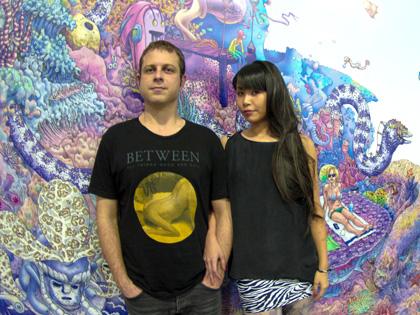 村上隆や奈良美智に続く!? LAを熱狂させる日本人と米国人のアーティスト「kozyndan」 インタビュー