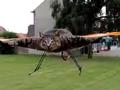 仰天! リアル・猫ヘリコプターが飛んでくる!?
