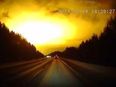 隕石か、UFOか、ミサイルか!? 怪しすぎる光にロシア当局はコメント拒否!!