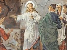 キリストの隣に立つヒトラー?