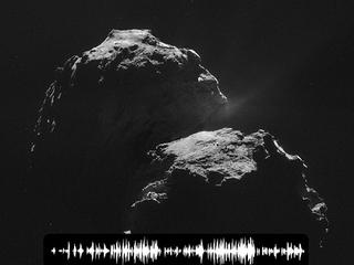 【【音声アリ】彗星の歌声!! 探査機ロゼッタが録音した謎の音と、欧州宇宙機関職員の内部告発!!