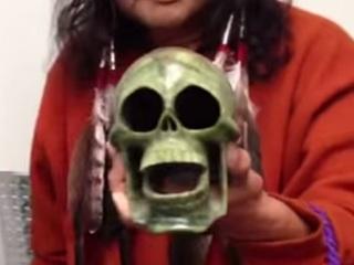 【動画】聞くとチビりそうになる「死の笛」の音!! 心臓を抜かれた生贄たちの叫び