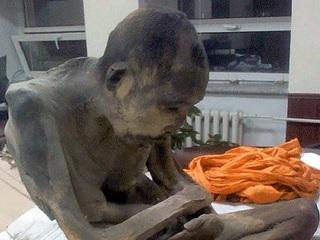 【永遠に瞑想する仏教僧のミイラが発見される!=モンゴル