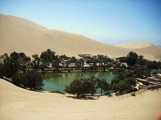 ペルーの砂漠に出現した奇跡のオアシス「ワカチナ」! まるで魔法がかかったような土地!