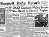ロズウェル事件の真相解明か!!  TV番組司会者「ロズウェルで回収された宇宙人の写真を今年5月5日に公開する」