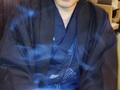 """【独占入手】陰陽師の「気」が写り込んだ!? 不思議な""""青い煙""""の正体とは?"""