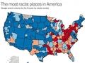人種差別主義者が多い地域が一目瞭然の「米国レイシストマップ」が公開される!
