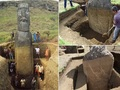 イースター島のモアイ像には巨大な胴体があった!! 背中には謎のペトログリフも!?