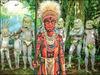 秘境パプアニューギニアで仮面の原住民に出会う!! 新刊『諸星大二郎 マッドメンの世界』が豪華すぎるッ!!