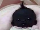 【検証】「世界で最も黒い赤ん坊、白目もなし」=南アフリカ