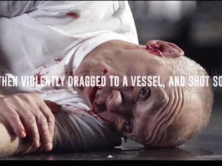 【【閲覧注意】反捕鯨団体「シー・シェパード」がグロビデオ製作!! 「殺されるクジラの苦しみを人間に置き換えてみた」