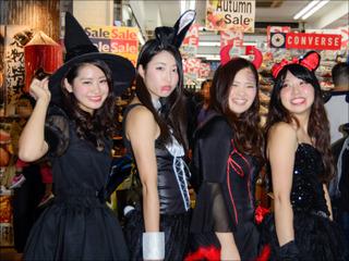 【【スクープ】渋谷ハロウィン前夜、すでに仮装が多数出現! 今年の仮装レベルは?