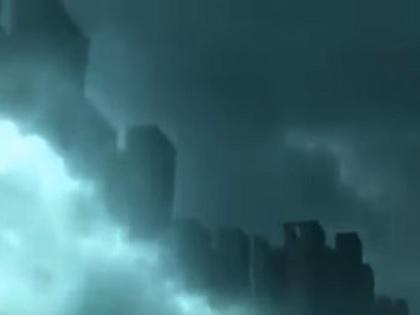 """中国上空に突然現れた「天空都市」!! パラレルワールドか? 全人類""""奴隷化""""計画の一環か?"""