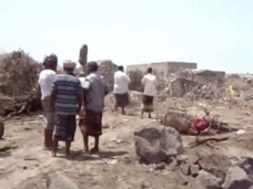 【131人死亡】散乱する肉片…誤爆された結婚式場の残酷映像!! イエメン内戦の悲惨な現実