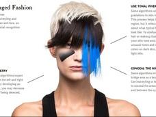 監視社会を生き抜くためのファッションとメイクが、かなりカッコいい! アート的プライバシー防衛策!!