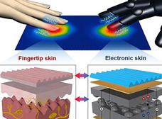 人間の皮膚とまったく同じ人工皮膚 ― 髪の毛1本の感覚まで感知可能