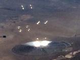 """【衝撃】ネバダ砂漠に """"UFOの親子""""が大量出現! やはり「エリア51」は怪しい!!"""