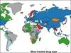 「世界の薬物汚染マップ」死亡者数・中毒者数・麻薬の種類を比較 果たして日本は?