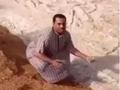 サウジアラビアの砂漠に氷の川が出現!?