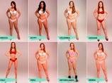 """1人のモデルに対し、18カ国の""""理想の体形""""にフォトショ加工! 世界の「美の基準」はこんなにも違った!"""
