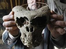 惑星ニビルから来た宇宙人の頭骨か! ロシアで発見されたナチス時代の3つの謎のアイテム