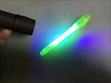 【怪しい実験室】100均で紫外線発生装置を作る方法! 蛍光ペンがありえない光り方をする!!