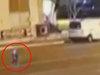 """【衝撃映像】トルコの路上に""""ペンギン型""""宇宙人が降臨! 滑るように歩き、空も飛べる新種の姿!"""