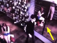 【衝撃動画】鏡に映らない男、出現! 本物の吸血鬼の姿がついに激撮される!