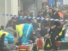 【閲覧注意】叫び声と大量出血…ベルギー連続テロ直後の映像! イスラム国は新たな攻撃も画策か?