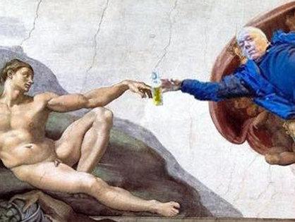 3万RTされた醜態ルネッサンスが素晴らしすぎる! 酔っぱらいおじさんが神に大変身ッ!